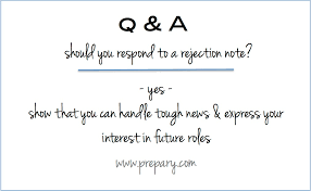 Should I Respond To A Job Rejection Or Turn Down Email From A Extraordinary Resume Rejection Email