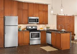 Kitchen Packages Appliances Lacks Frigidaire Stainless Steel Kitchen Appliance Package With