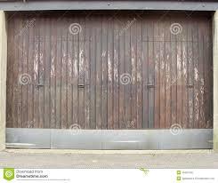 Worn Wood And Metal Barn Garage Door Stock Photo - Image: 16407542