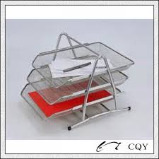 office paper holder. contemporary office office stationery metal mesh a4 paper holder with 3 layer  buy  holdermetal stationerymetal product on  in e