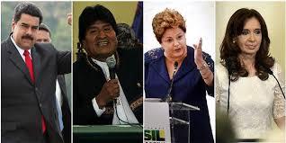 Resultado de imagen para Los populistas maximos de este siglo en Latinoamerica