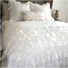 white ruffle duvet cover twin xl sweetgalas