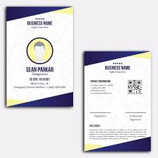Business Id Template Identity Card Design Template For Free Download On Pngtree