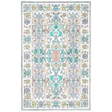 green and yellow area rugs crystal vintage bohemian blue yellow rug 7 square with and decor area gray light h blue yellow green area rugs blue green