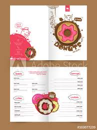 Two Page Brochure Template Two Page Brochure Template Or Flyer For Bakery Buy This Stock