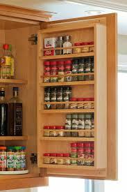 Kitchen Cabinet Spice Organizers