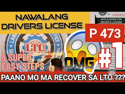 lost drivers license how to get a