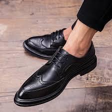 eur size 38 44 new arrival men shoes retro brogue office shoes men oxfords shoes