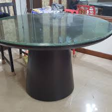 solid hardwood timber round dining table black walnut bn furniture tables chairs on carou