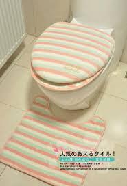 cream wooden toilet seat. get quotations · ice cream powder purple stripe three piece set toilet plush lid wooden seat mats i