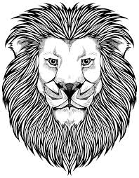 Small Picture Animals Simple Lion Head Coloring Pages Coloring Page and