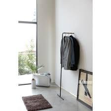 Slim Coat Rack Yamazaki Hanger Rack 11001001100100 Kledingrek Zwart Hanger rack and Hanger 51