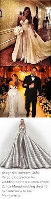 Sofia Vergara Wedding Dress Designer Designerbridalroom Sofia Vergara Dazzled On Her Wedding Day