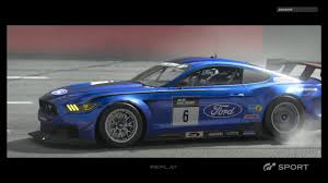GT Sport Beta: Ford Mustang Gr.3 Game Play - YouTube
