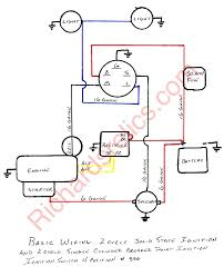basic ignition wiring diagram wiring diagram and schematics simple ignition wiring detailed schematic diagrams rh 4rmotorsports com basic ignition coil wiring diagram basic points