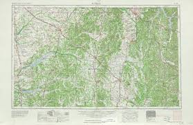 tennesse historical topographic maps  perrycastañeda map