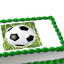 Edible Soccer Ball Cake Decorations Soccer Ball Edible Image Cake Decoration 1