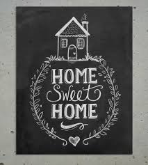 Small Picture Home Sweet Home Chalkboard Art Print Art Prints Posters Lily