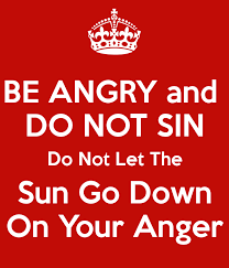 Image result for be angry and do not sin