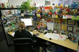 google office cubicles. office desk of a google employee different personalities pinterest desks and spaces cubicles