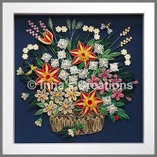 Paper Quilling Flower Baskets Flower Basket Paper Quilling Created By Inna Innas Crea Flickr