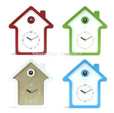 koo koo clock sound hot morn sign woon wall clock bird cuckoo clock pare antique wedding