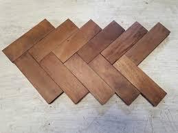 reclaimed gany parquet flooring
