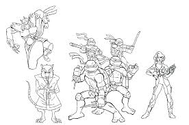 free ninja turtle coloring pages also teenage mutant ninja turtles coloring teenage mutant ninja turtles