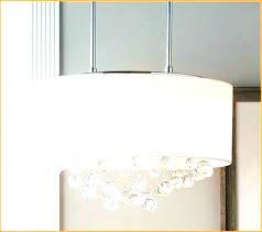 rectangular drum chandelier shade pendant light lighting