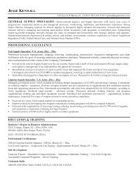 Resume Procurement Specialist Nice Procurement Specialist Resumes With Virtual Resume Krida 5