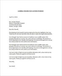 Collection Of Solutions Thank You Letter To Employer After