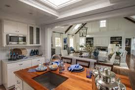 Hgtv Kitchen Designs 2015 White Kitchen With Butcher Block Island Countertop Hgtv
