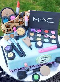 mac make up cake by thecakemamas