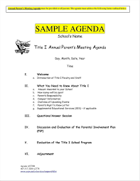 Agenda Office Business Meeting Agenda Examples Office Templates Samples Sample