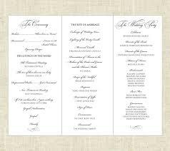printable program templates 001 template ideas tri fold wedding sensational programs