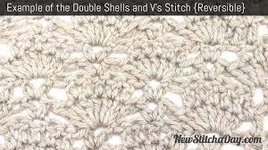 Double Shell Crochet Pattern