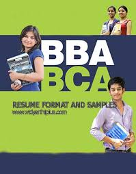 and bca resume format and samplesbba and bca resume format and samples