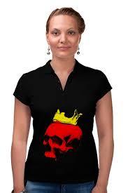 Рубашка Поло <b>Череп короля</b> #2339179 за 1 740 руб. в Москве ...