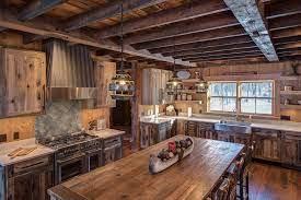 Cozy Rustic Kitchen Rustic Kitchen Minneapolis By Lampert Lumber Rice Lake Houzz