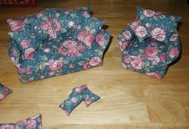patterns furniture. QuiltingB\u0027s Custom Made Barbie Furniture Patterns - Sofa And Chair Set