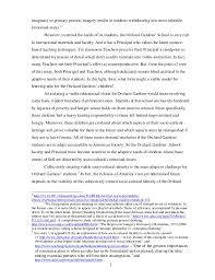 orchard gardens school critical essay 2 2 3 imaginary or