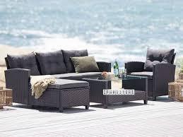aurora rattan outdoor sofa coffee