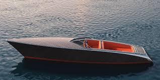 zebra electric wooden boat designboom