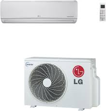 split air conditioning system. lg ls120hev1 12,000 btu mega single zone wall-mount ductless split system with heat pump, 16.3 seer, 10.26 eer and inverter compressor air conditioning
