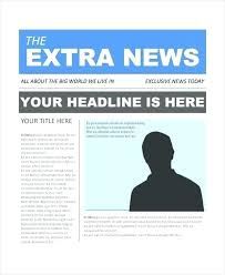 Newspaper Template Free Google Docs Newspaper Template For Google Docs Highendflavors Co