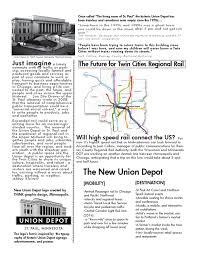 Light Rail Pub Crawl Minneapolis Union Depot One Page By Abbey Kleinert Issuu