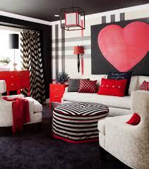 Red Living Room Accessories Interior Valentine Living Room Accessories Big Heart Wall Poster