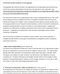 Examples Of Performance Review Employee Performance Review Sample 8 Examples In Word Pdf