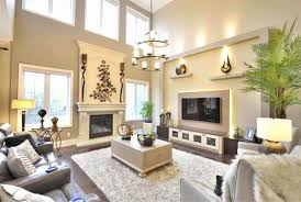 large room lighting. Living Room With High Ceilings Ideas Lounge Decorating Ceiling Design Large Wall Decor Lighting W