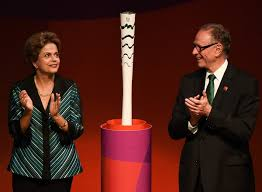 Image result for TORCH FOR OLympics 2016